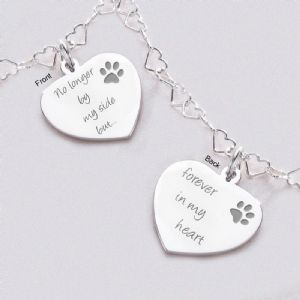 Sterling Silver Memorial Necklaces